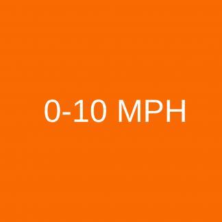 0-10 mph