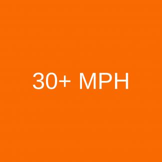 30+ mph